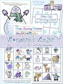 Wonderful Winter Activity Download