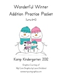 Wonderful Winter Addition Practice Packet (Sums of 6-10)