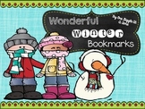 Wonderful Winter Bookmarks