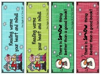 Wonderful Winter Bookmarks