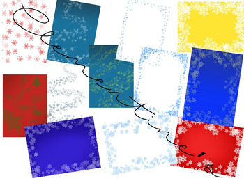 Wonderful Winter / Christmas Digital Paper {Winter Activities} - Dollar Deal