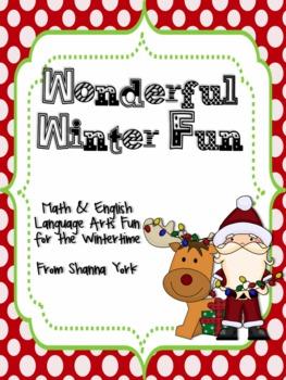 Wonderful Winter Fun: Math and ELA Winter Fun