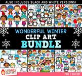 Wonderful Winter Clip Art Bundle