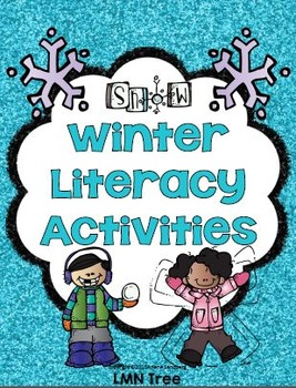 Winter Literacy Center Activities Grades 1-2