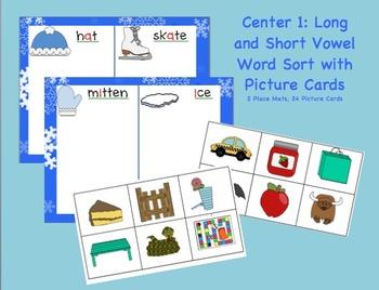 Wonderful Winter Literacy Centers