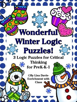 Wonderful Winter Logic Puzzle Bundle!