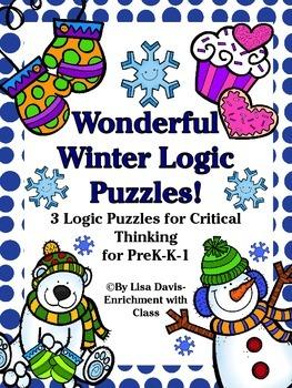 Wonderful Winter Logic Puzzle Bundle!