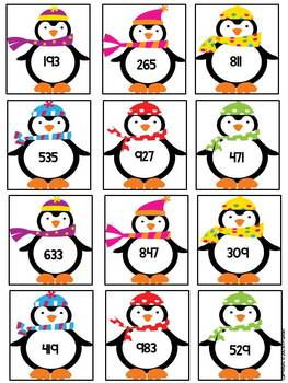 Wonderful Winter Numbers: January Math Centers
