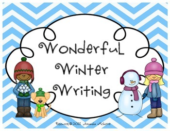 Wonderful Winter Writing {how to build a snowman, SNOWBALL FIGHT!}