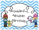 Wonderful Winter Writing {how to build a snowman, SNOWBALL