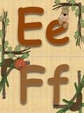Wonderful Woodlands Word Wall