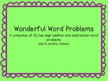Wonderful Word Problems