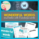 Wonderful Words Pack