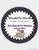 Wonderful Words Vocabulary Instruction: Bear Stays Up for Christmas
