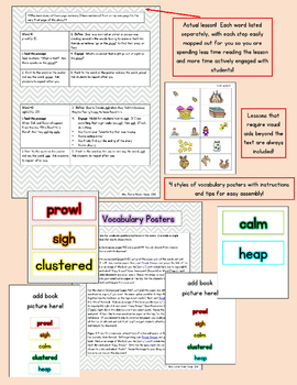 Wonderful Words Vocabulary Instruction Fall Bundle
