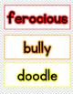 Wonderful Words Vocabulary Instruction: Skippyjon Jones Cl