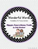 Wonderful Words Vocabulary Instruction: Skippyjon Jones in Mummy Trouble
