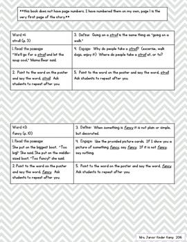 Wonderful Words Vocabulary Instruction: The Three Snow Bears