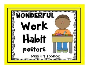 Wonderful Work Habits