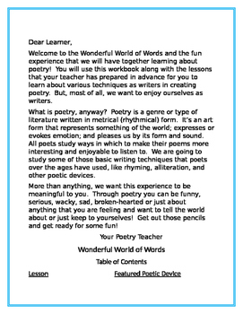 Wonderful World of Words - Student Companion Workbook