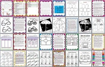 Common Core Aligned Graphic Organizers for the Entire Writing Process