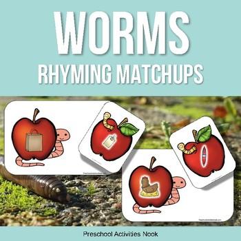 Wonderful Worms Rhyming Matchups