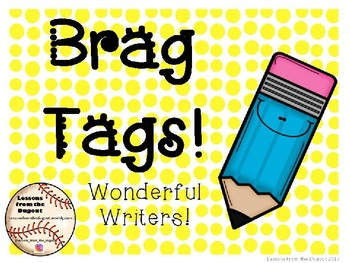 Wonderful Writers Brag Tags