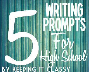 Wonderful Writing:  A Collection of Five Writing Projects for HS Students