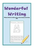 Wonderful Writing - Tracing and Word skills (Autism, SEN, Early Childhood, ESL)