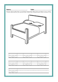 Wonderful Writing - Tracing and Word skills (Autism, SEN, Early Childhood, ESL)