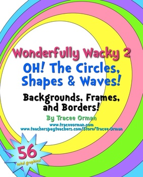 Wonderfully Wacky Designs 2: Oh, The Circles Clip Art