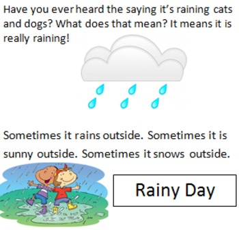 Wondering about Weather!