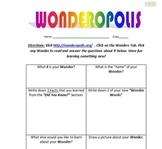 Wondering with Wonderopolis (Distance Learning)