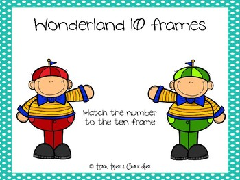 Wonderland 10 frames