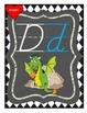 Wonderland ABC Posters - D'Nealian