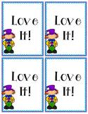 Wonderland Book Tasting Cards