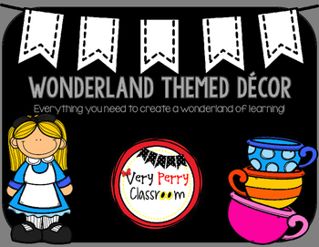 Wonderland Classroom Decor