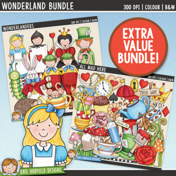 Wonderland Clip Art Bundle