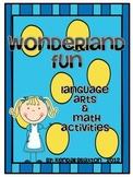 Wonderland Fun {Alice in Wonderland Themed Activities}
