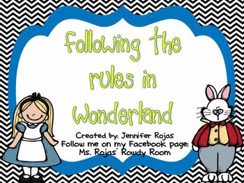 Wonderland Rules
