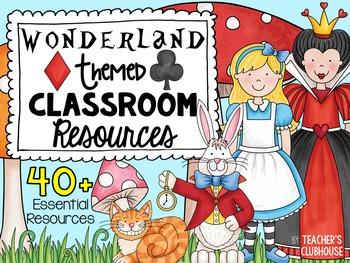 Wonderland Theme Decor Pack