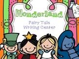 Fairy Tale Writing Center - Alice in Wonderland
