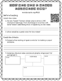 "Informational Text Dependent Question Practice ""Flying Paper Airplanes"""