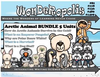 Wonderopolis Arctic BUNDLE Writing-Non-Fiction-Math-Science-Craft Unit