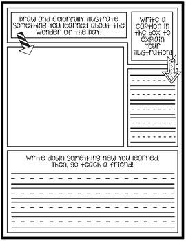 Wonderopolis Graphic Organizer