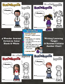 Wonderopolis Interactive Writing Journal