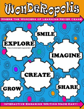 Wonderopolis Interactive Writing Journal