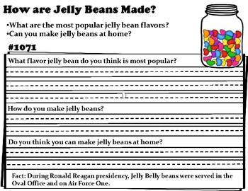 Wonderopolis Jelly Beans Writing-Non-Fiction-Math-Graphing