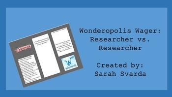 Wonderopolis Wager