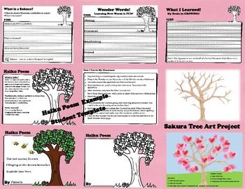 Wonderopolis What is a Sakura? Writing-Non-Fiction-Art-Haiku Poem